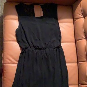 Black Forever 21 maxi dress